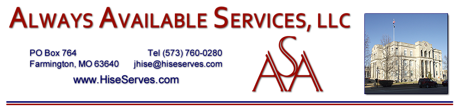 Always Available Services, LLC 573-760-0280